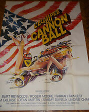 L equipée du Cannon Ball  - affiche cinema 120 * 160 cm