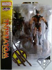"BROWN UNIFORM WOLVERINE (X-MEN) Marvel Select 7"" inch Figure with Base 2013"