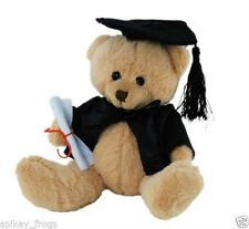 *NEW* CUTE GRADUATION TEDDY BEAR (SCHOOL, TAFE, UNI, COLLEGE) SOFT TOY 15cm