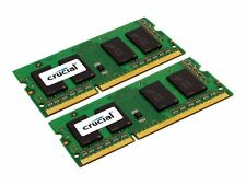 KIT 16gb Crucial (8gbx2) ddr3l 1600 MT/s (pc3l-12800) 204-pin SODIMM-ct2kit10