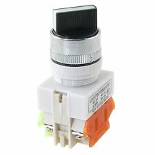 5Pcs LAY37 Ui660V 2 Position Industrial Selector Rotary Switch