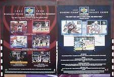 1997-98 DIAMOND VISION HOCKEY/BASKETBALL DEALER PROMO (GRETZKY/ROY/IVERSON/KIDD+