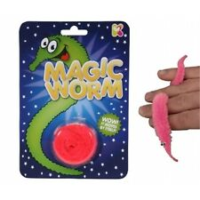 Pink Magic Twisty Worm Toy - Novelty Prank Gift Pocket Money Party Bag Stocking