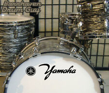 Yamaha, 60s Vintage, Repro Logo - Adhesive Vinyl Decal, for Bass Drum Reso Head
