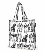 TOM OF FINLAND Fellows Shopping Bag by Finlayson Finland