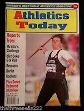 ATHLETICS TODAY - DEREK REDMOND INTERVIEW - SEPT 19 1991