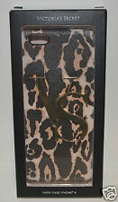 VICTORIA'S SECRET VS GOLD LEOPARD CHEETAH PRINT IPHONE 6 HARD CASE SLEEVE BROWN