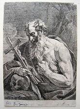 Guido Reni: Der Heilige Hieronymus mit Kruzifix & Schädel San Girolamo Lonsing