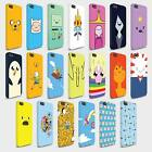 Phone Hard Cases Covers Adventure Time Finn & Jake for iPhone 4 5 6 SE models