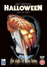 HALLOWEEN DVD PART 1 CLASSIC HORROR Jamie Lee Curtis Donald Pleasance New UK