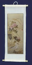 Chinese Silk Picture, Dolls House Miniature, Wall Decor, Miniatures