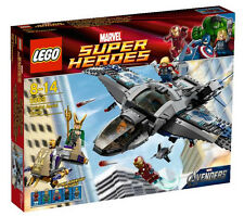 6869 QUINJET AERIAL BATTLE marvel super heroes LEGO NEW thor loki iron man legos