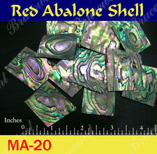 Inlay Material Red Abalone Blank 50gr ( MA-20 )