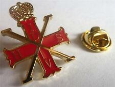 Red Cross of Constantine Christian Order Prince Masonic Hat Vest Lapel Tie Pin