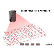 Mini Portable Laser Virtual Projection Keyboard And Mouse To For Tablet Pc AU