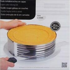 New Cake Mould Slicing Bakeware Stainless Steel Supply Ring Kitchen Tools H