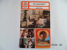 CARTE FICHE CINEMA 1983 RUE CASES NEGRES Garry Cadenat Darling Legitimus D.Seck