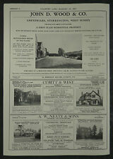 Greyfriars Storrington West Sussex Estate Agent Details 1957 1 Page Advert