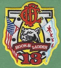 CHICAGO FIRE DEPARTMENT HOOK & LADDER COMPANY 13 PATCH