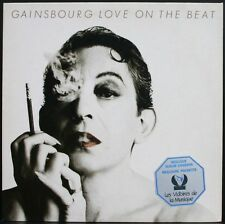 SERGE GAINSBOURG LOVE ON THE BEAT + STICKER Victoires de la Musique LP 33T 1986