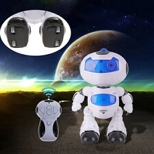 RC Robot Toy Remote Control Musical Electronic Walk Dance Lightenning Robot  Kit