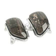 Smoke Front Turn Signal Lens Shell Cover For Honda Goldwing GL1800 2001-2014