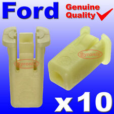 FORD FIESTA ST150 FRONT BUMPER PLASTIC CLIPS GROMMET EXPANDING NUT PLASTIC