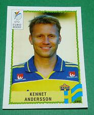 N°136 KENNET ANDERSSON SVERIGE SUEDE PANINI FOOTBALL UEFA EURO 2000