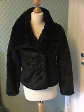 Lovely acrylic fur jacket by TU size S