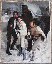 Official Pix unsigned 16x20 Photo Star Wars Carrie Fisher Harrison Ford Hamill