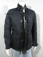 NWT G-STAR Raw Sandhurst Military/Field Padded Duck Canvas Jacket Black size L