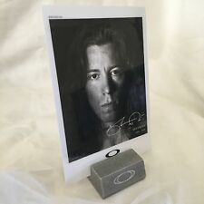 Oakley Shaun White Rare Display Card Brand New Bob Juliet Medusa Cap Case Type 1