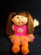 """Cabbage Patch Doll ✿ 14"""" Silky Light Brown Hair, Blue Eyes in Ballet Suit"""