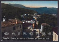 CUNEO MONTALDO DI MONDOVÌ 06 Cartolina FOTOGRAFICA viaggiata 1958