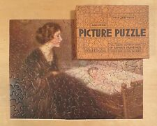 GOLD MEDAL PICTURE Jigsaw PUZZLE Mother & Child / Baby - Charles Warde Traver