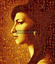 Grande photo originale mosaïque poster dans différentes couleurs de amy winehouse nº 4