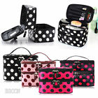 Portable Beauty Toiletry Case Organizer Handbag Makeup Cosmetic Dot Bag Travel