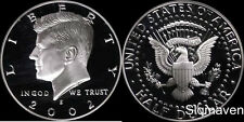 2002 S 90% Silver Kennedy Half Dollar Deep Cameo Gem Proof No Reserve