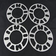 """(4) 1/8"""" Inch 5x4.75 Flat Wheel Spacers 