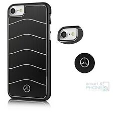 "Mercedes Aluminium Back Cover iPhone 7 4,7"" Hard Case Schutzhülle Handy Tasche"