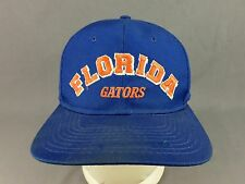 University of Florida Gators Hat Cap Football New Era Adjustable Snapback Blue