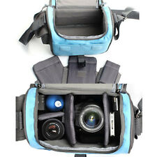 Camera Bag Case For Canon EOS 550D 600D 650D 60D 7D 5D2 5D3 Blue
