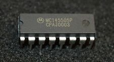 1 X MC145505P Per channel PCM Code filter mono circuits DIP16  (lot# 18)