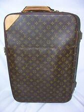 Louis Vuitton Carry On Luggage/Suitcase w/ Wheels & Telescoping Handle