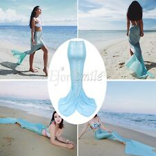 Mermaid Tail Skirt Swimwear Halloween Costumes Women Lady Cosplay Fancy Dress