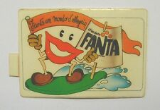 VECCHIO ADESIVO ORIGINALE / Old Original Sticker FANTA ARANCIATA (cm 8 x 6) b
