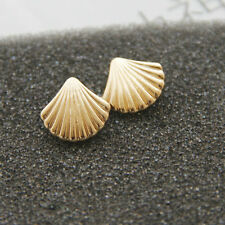 Fashion Gold/Silver Color Shell Type Stud Earrings EH0791