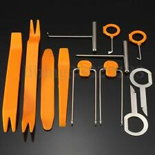 12pcs Removal Pry Kit Set Radio Coche Plástico Puerta Clip Panel Trim Tool Dash