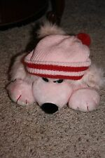 RARE Vintage 1982 ANTICS Michael Fox FLEAGLE BEAGLE Pink Plush Puppy Dog Hat 9""