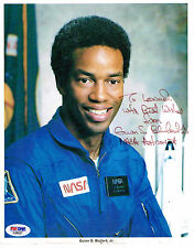 GUION BLUFORD  SIGNED NASA LITHO  PHOTO  PSA/DNA C26227